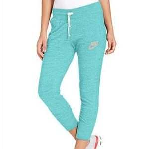 Nike teal joggers (s)
